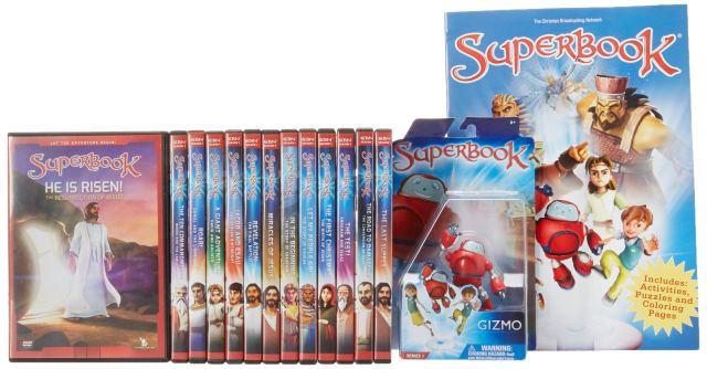 Superbook Coloring book & Season 28 Full Set (283 Episodes): CBN