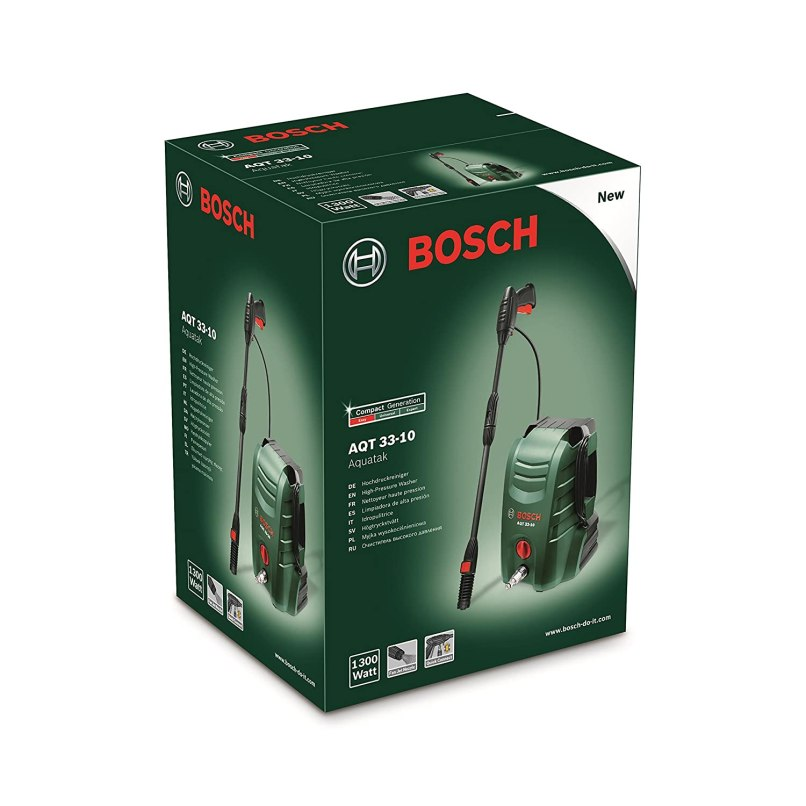 Bosch Aqt 33 10 1300 Watt Home And Car Washer Green Black Red Online At Low S In India