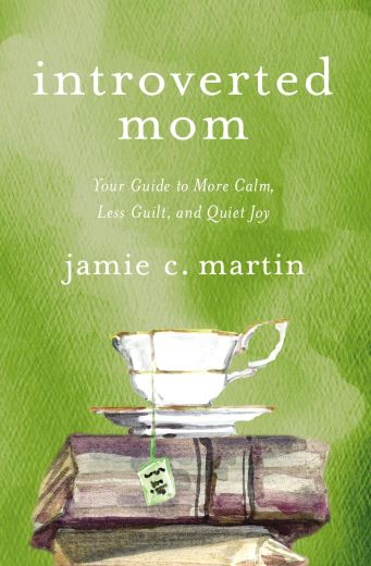 """Introverted Mom"" book cover"