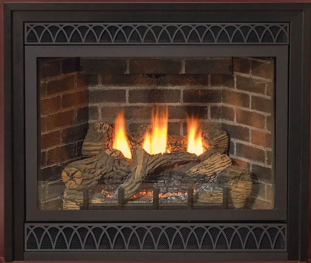 Direct-Vent NG Millivolt Fireplace - Gas Fireplace Inserts (Reviews & Buying Guide 2017) - Heat Talk