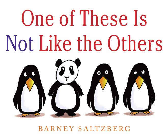 One of These Is Not Like the Others: Saltzberg, Barney: 9780823445608:  Amazon.com: Books