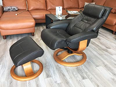 Fjords-Mustang-Large-Leather-Recliner-and-Ottoman