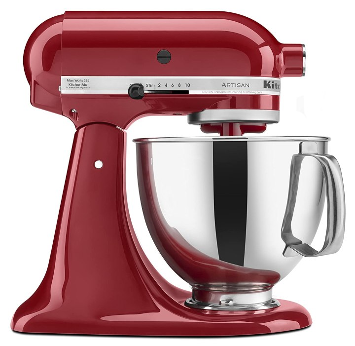 KitchenAid KSM150PSER Stand Mixer with Pouring Shield, 5-Quart, Various Colors