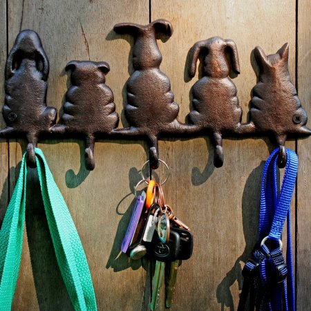 Dog Tail Wall Key Holder