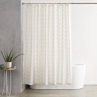 AmazonBasics Mold and Mildew Resistant Shower Curtain