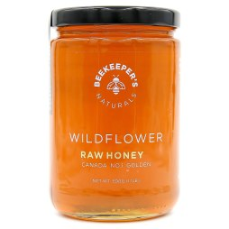 Wildflower Raw Honey by Beekeeper's Naturals