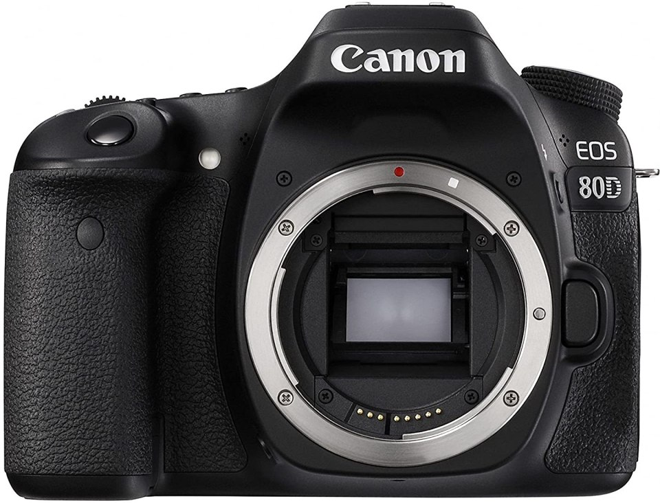 Canon 1263C004 - Cámara EOS 80D Digital SLR, color negrohttps://amzn.to/2L00wLu