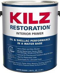best white paint for bathroom - KILZ