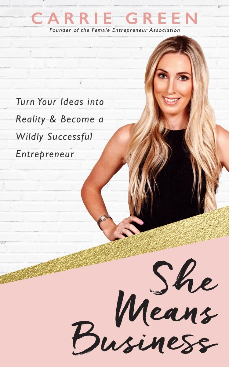 Amazon.com: She Means Business: Turn Your Ideas into Reality   books by successful women