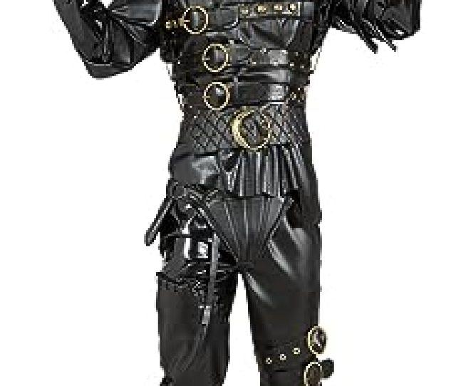 Edward Scissorhands Costume Black Standard