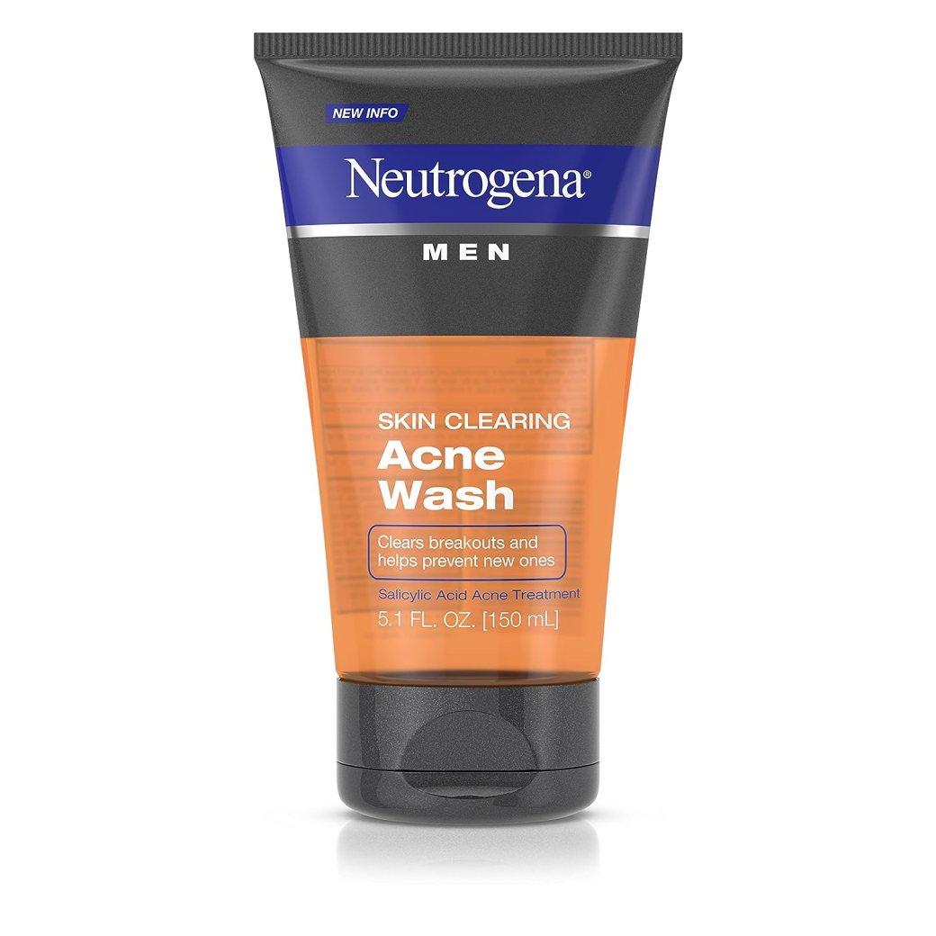 Image result for Neutrogena Men Skin Clearing Acne Wash Face Wash