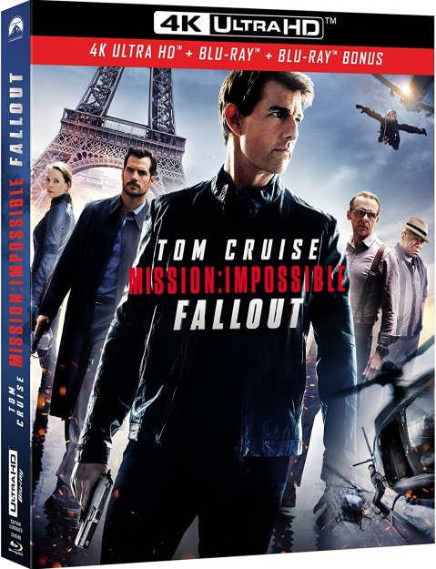 Mission: Impossible - Fallout 4K Ultra HD + Blu-ray + Blu-ray Bonus:  Amazon.co.uk: DVD & Blu-ray