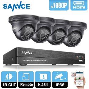 DVR sannce cameras