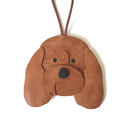 goldendoodle leather christmas decoration hanging ornament - Goldendoodle Christmas Decorations