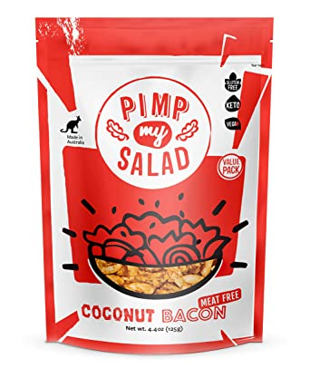 Pimp My Salad Coconut Bacon Bits (Vegan)