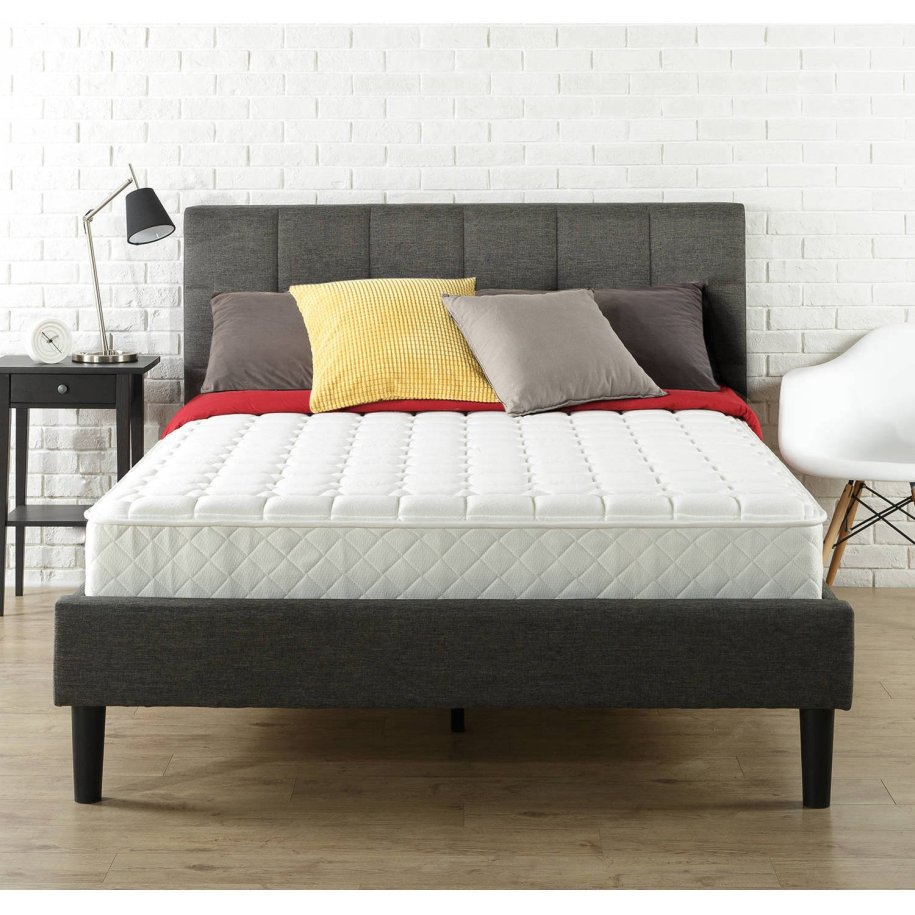 8'' Twin Size Mattress-In-a-Box Spring Coils Adjusts To ...