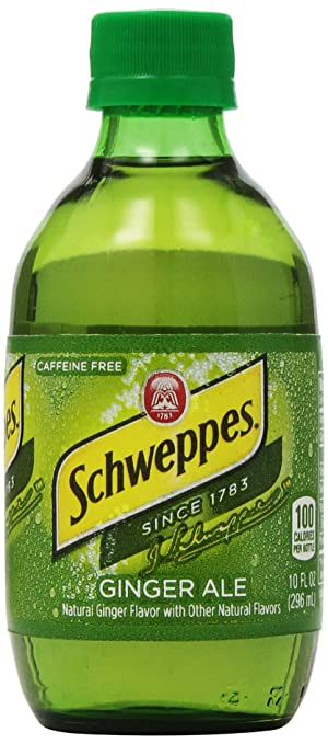 Schweppes Ginger Ale, 6-Pack, 10 oz Bottles
