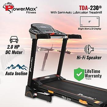 Powermax Fitness TDA-230 Motorized Treadmill