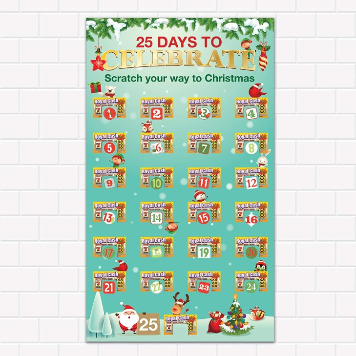 Lottery Ticket Advent Calendar