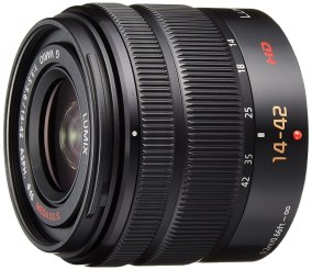 Panasonic LUMIX G VARIO 14-42mm / F3.5-5.6 II ASPH. / MEGA O.I.S. Digital Interchangeable Zoom Lens