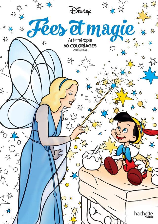 Bloc Fées & Magie: 21 coloriages anti-stress : Disney: Amazon.de
