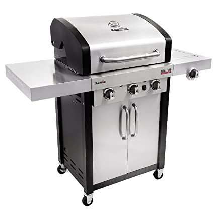 Com Char Broil Signature Tru Infrared 420 3 Burner Cabinet Liquid Propane Gas Grill Garden Outdoor