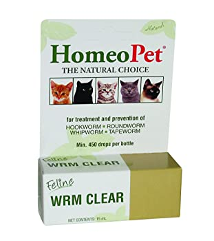 HomeoPet Wrm Clear - Best Non-toxic