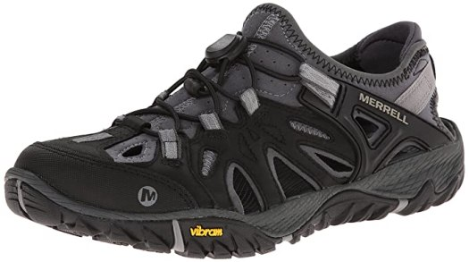 Merrell Men's All Out Blaze Sieve Water Shoe, Black/Wild Dove, 10.5 M US