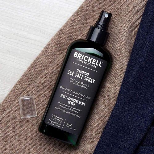 Brickell Men's texturizing sea salt spray