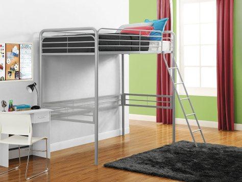 Signature Sleep Metal Twin Loft Bed