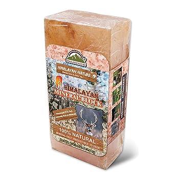 Himalayan Nature Deer Salt Brick 3-5 lbs