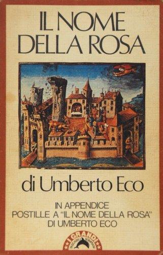 Risultati immagini per copertina del nome della rosa