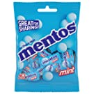 Mentos Chewy Mint Candy, Individually Wrapped, Halloween Candy, Bulk, 0.10 Oz, Pack of 40