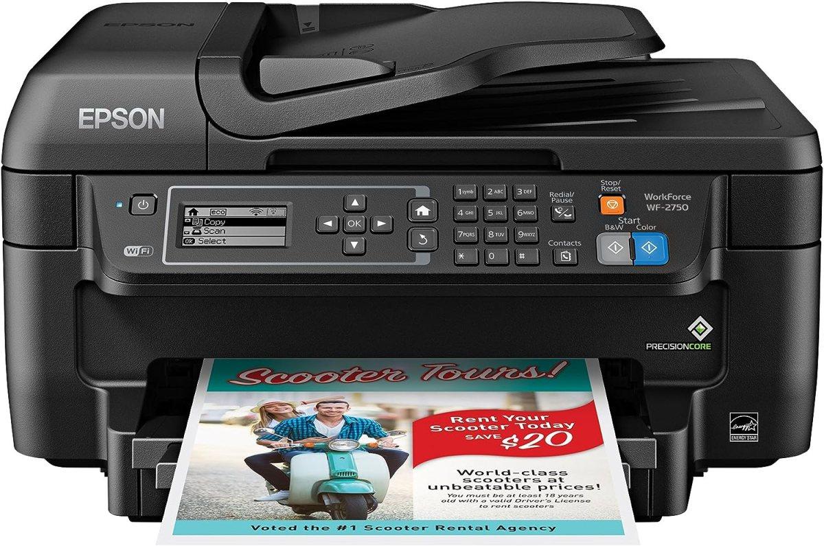 Epson Workforce WF-2750WF best all in one printer