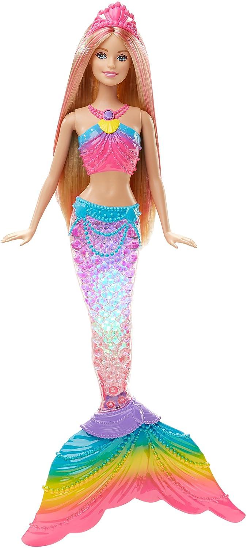 Barbie Rainbow Lights Mermaid Doll