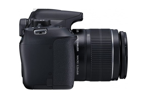 Image result for Canon EOS 1300D DSLR Camera with 18-55 and 55-250mm IS II Lens, 16GB Card at Rs. 34,990