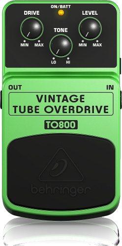 Behringer Vintage Tube Overdrive To800 Vintage Tube