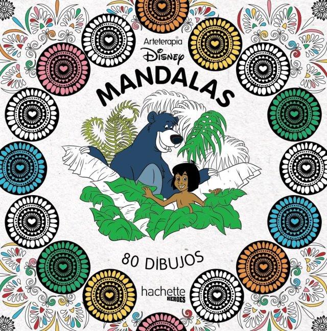 Mandalas Disney (Hachette Heroes - Disney - Colorear) : Hachette
