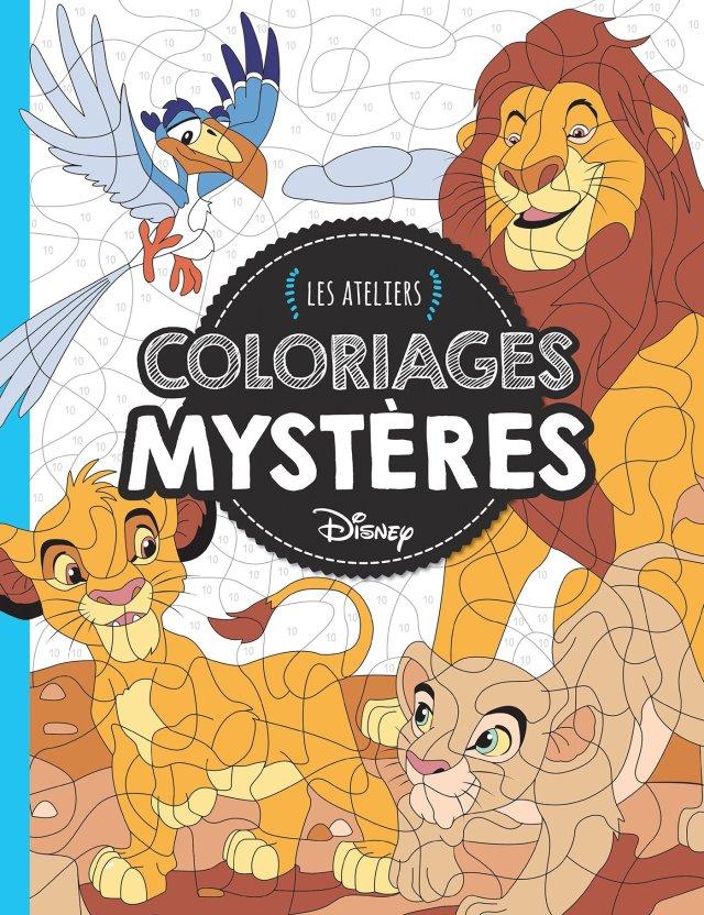 DISNEY - Les Ateliers - Coloriages mystères : Varone, Eugénie