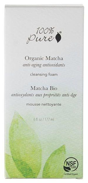 100% Pure Matcha Green Tea Cleansing Foam 6 oz