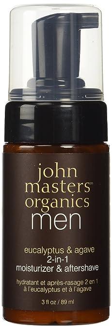 John Masters Organics Moisturizer & Aftershave Eucalyptus & Agave 2-in-1