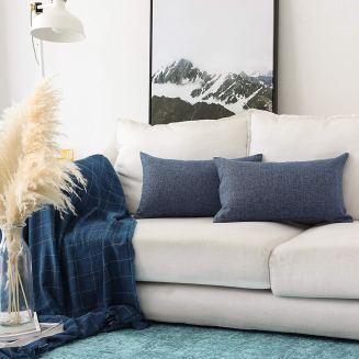 Khooti Rectangular Jute Cushion Cover
