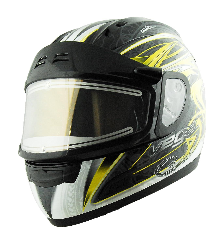 Vega Altura Electric Snow Full Face Helmet with Slayer Graphic
