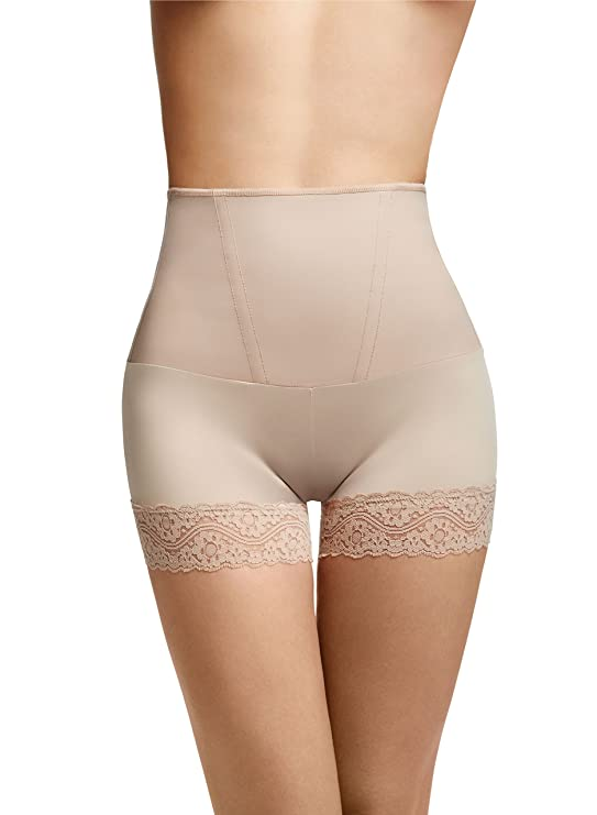 "4803c3458a199  4 Squeem ""Curve Emotion"" Mid-Waist Boyshort - The Best Shapewear for a  Flat Tummy. Best Shapewear for Muffin Top"