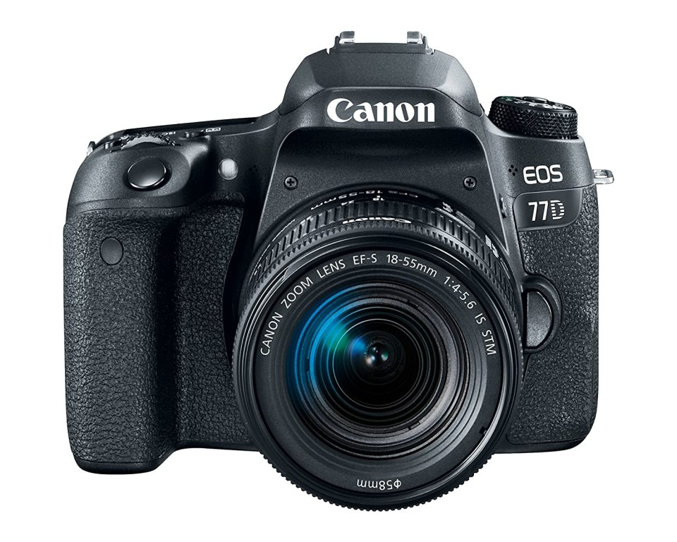 Canon EOS 77D Body, con 18-55mm, Negrohttps://amzn.to/2UhyTSx