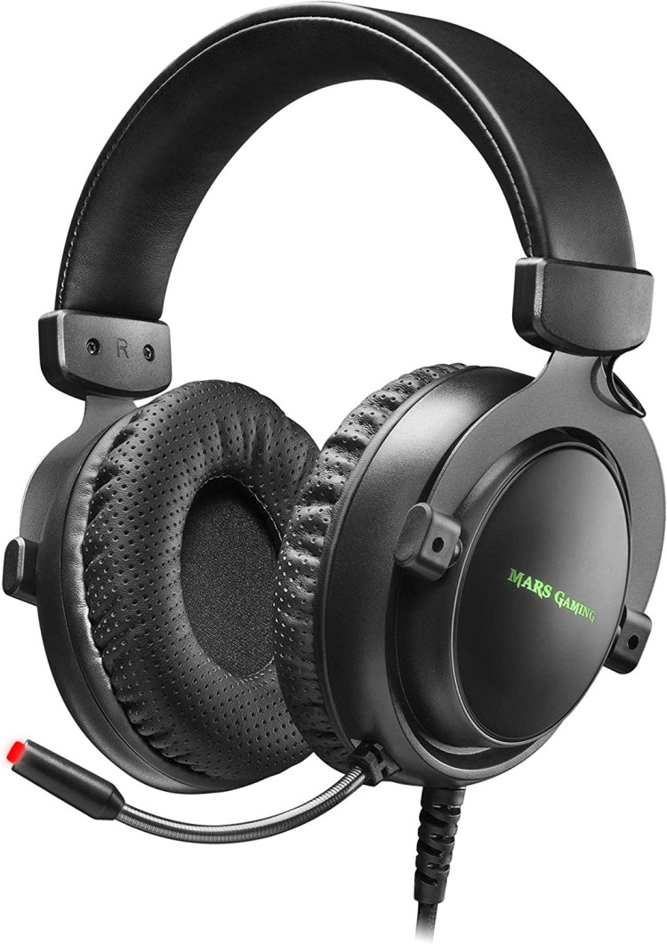 Mars Gaming MH4X, auriculares + mic DSP 7.1