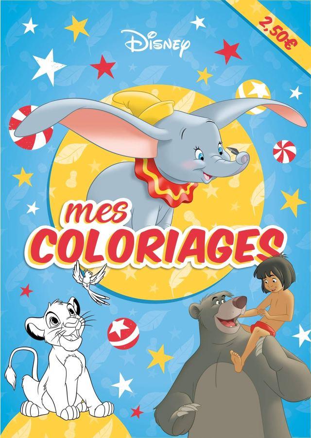 DISNEY CLASSIQUES - Mes Coloriages : Disney: Amazon.fr: Livres