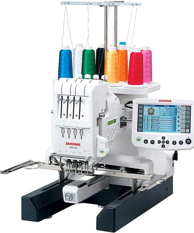 Janome MB-4s Four-Needle Embroidery Machine reviews