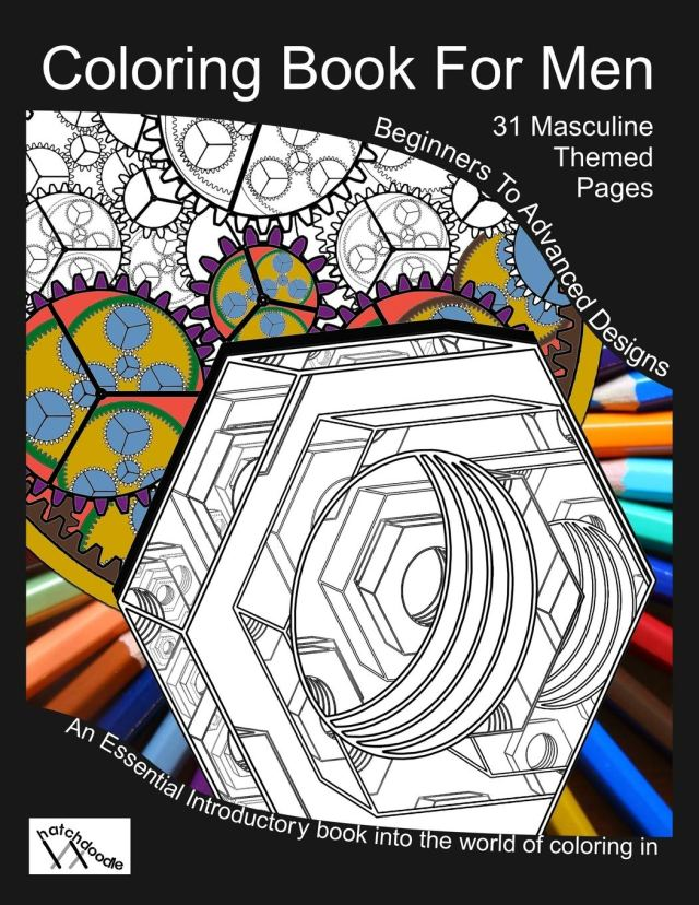 Amazon.com: Coloring Book For Men: Totally Masculine Themes