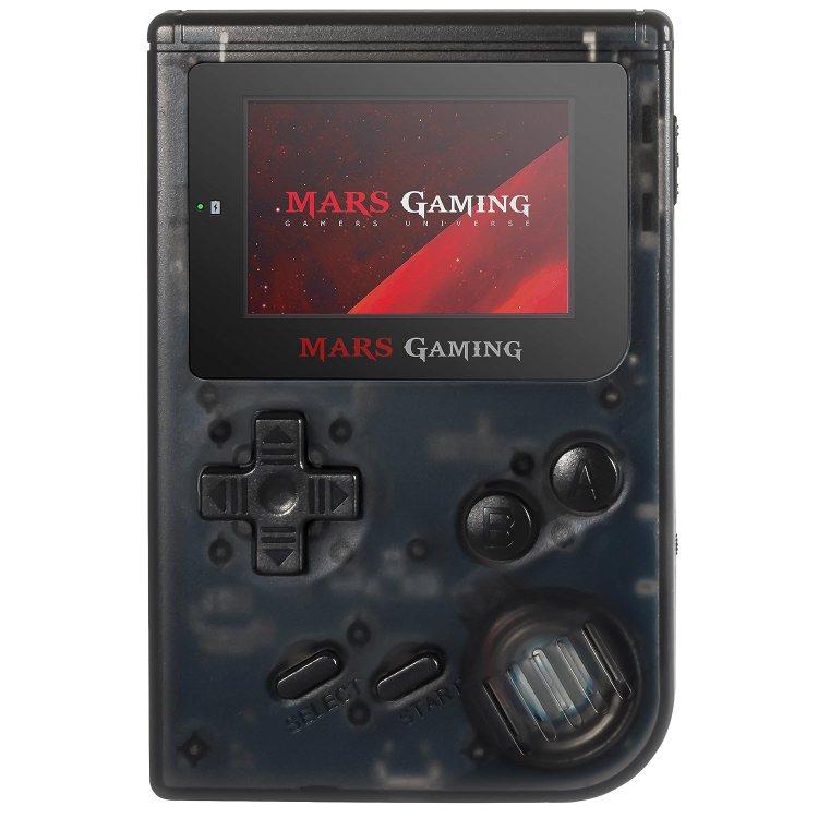 Mars Gaming MRBB - Consola retro portátil (151 juegos pre-instalados, pantalla HD, ranura microSD, emulador GBA, Sega, NES, FC y SFC), color negro
